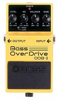 Boss ODB-3 Bass OverDrive  педаль для бас гитары