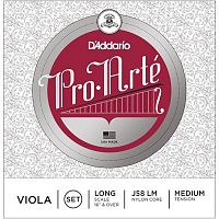 D`Addario J58 LM  pro arte viola set medium - струны для альта
