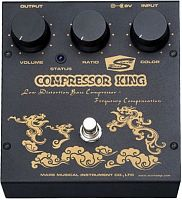 Mars Compressor King SALE  эффект для бас-гитары Low Distortion Analog Compressor